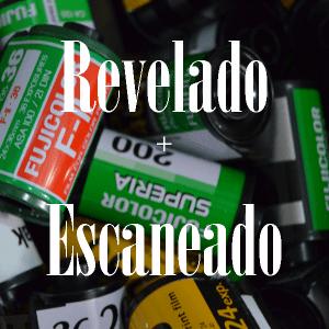 Revelado + Escaneado
